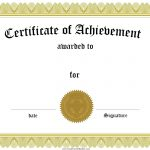 001 Free Printable Certificates Of Achievement Certificate Template   Free Printable Certificate Templates