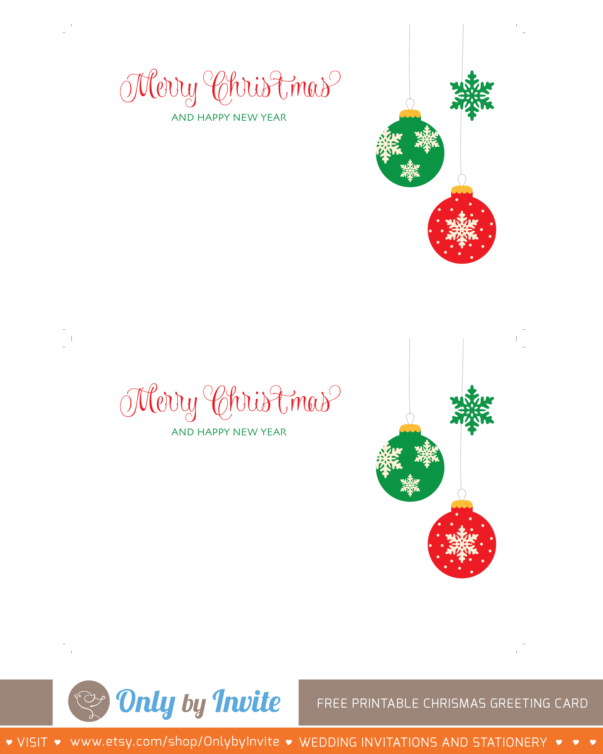 001 Printable Greetings Cards Templates Free Christmas Greeting Card - Free Printable Blank Greeting Card Templates