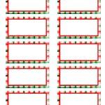 002 Template Ideas Christmas Address Labels Sample Basic Free Return   Free Printable Christmas Return Address Label Template
