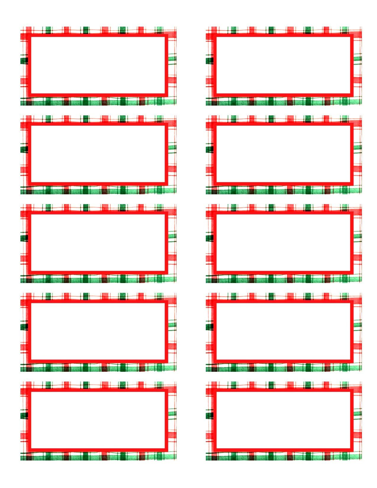 002 Template Ideas Christmas Address Labels Sample Basic Free Return - Free Printable Christmas Return Address Label Template