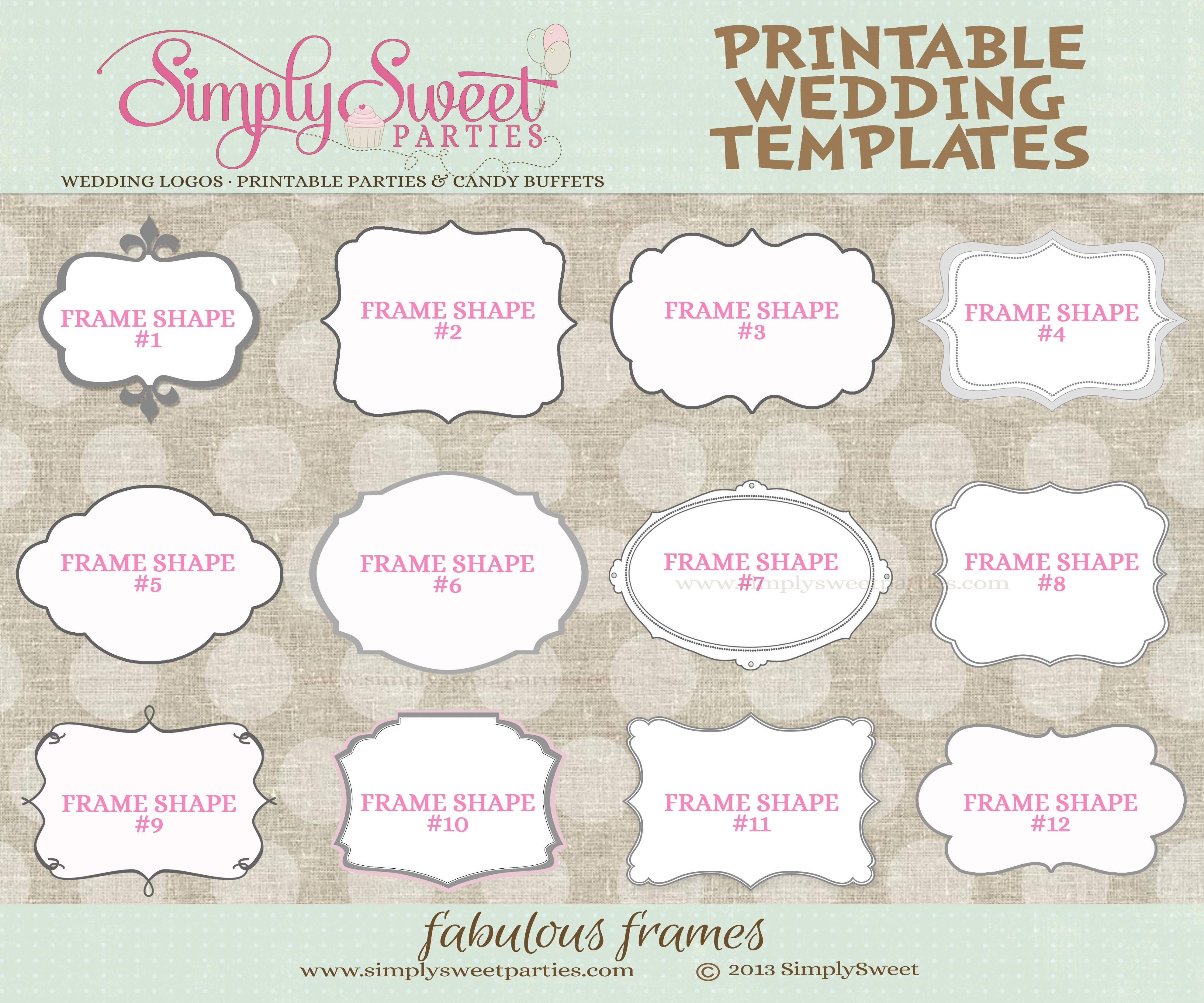 003 Wedding Favor Tag Templates Template Ideas Free Printable Baby - Free Printable Baby Shower Favor Tags Template