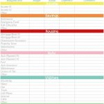 005 Excel Personal Budget Template Free Printable Monthly Planner   Free Printable Budget Template Monthly