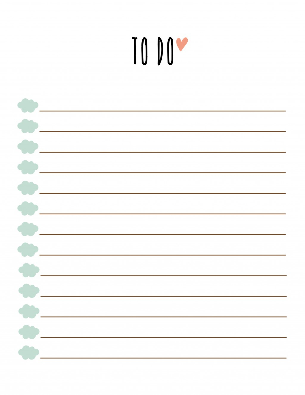 006 Free Printable To Do List Template ~ Ulyssesroom - To Do List Free Printable