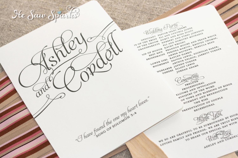 006 Free Wedding Program Fan Templates Template Ideas ~ Ulyssesroom - Free Printable Fan Wedding Programs