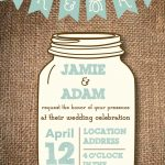 006 Mason Jar Invitation Template Ideas Free Templates New Stunning   Free Mason Jar Wedding Invitation Printable Templates