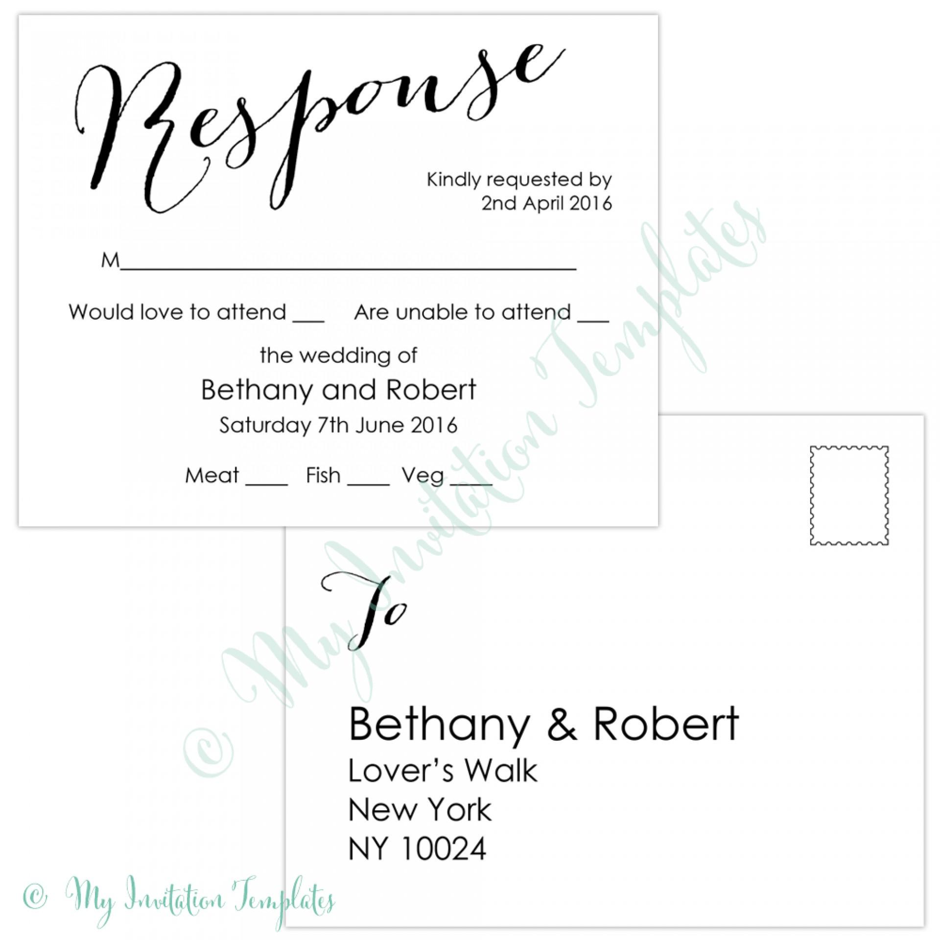 009 Template Ideas Free Printable Postcard Sample Bombshell Rsvp - Free Printable Rsvp Cards