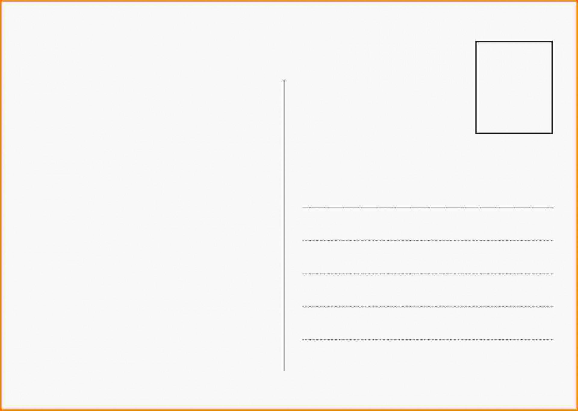 009 Template Ideas Postcard Free Download ~ Ulyssesroom - Free Blank Printable Postcards