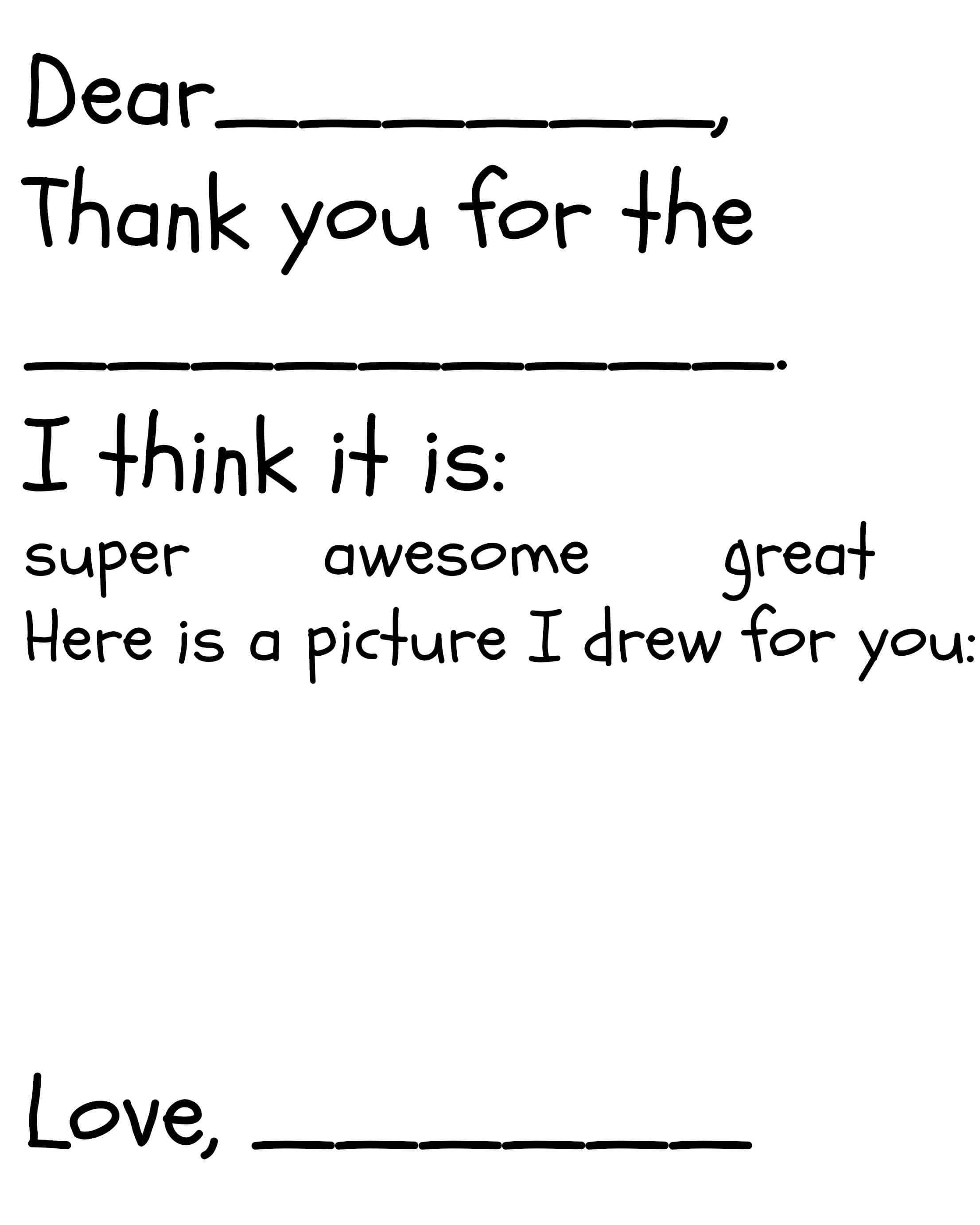 009 Thank You Note Template Ideas Printable Card ~ Ulyssesroom - Free Printable Thank You Cards Black And White