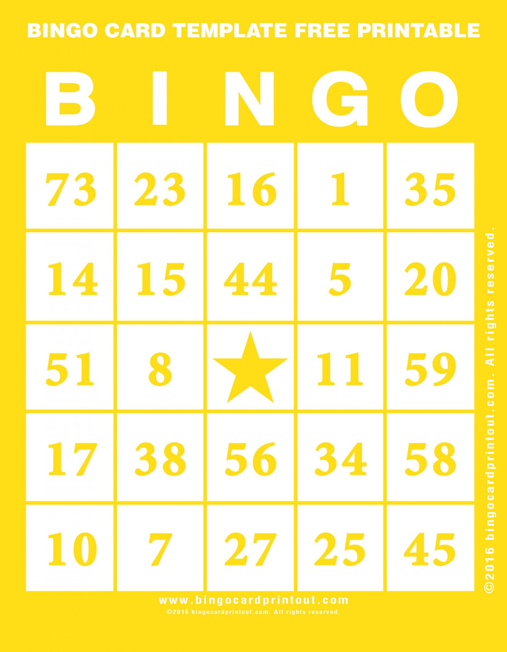 010 Bingo Card Template Free Printable ~ Ulyssesroom - Free Printable Bingo Cards For Teachers