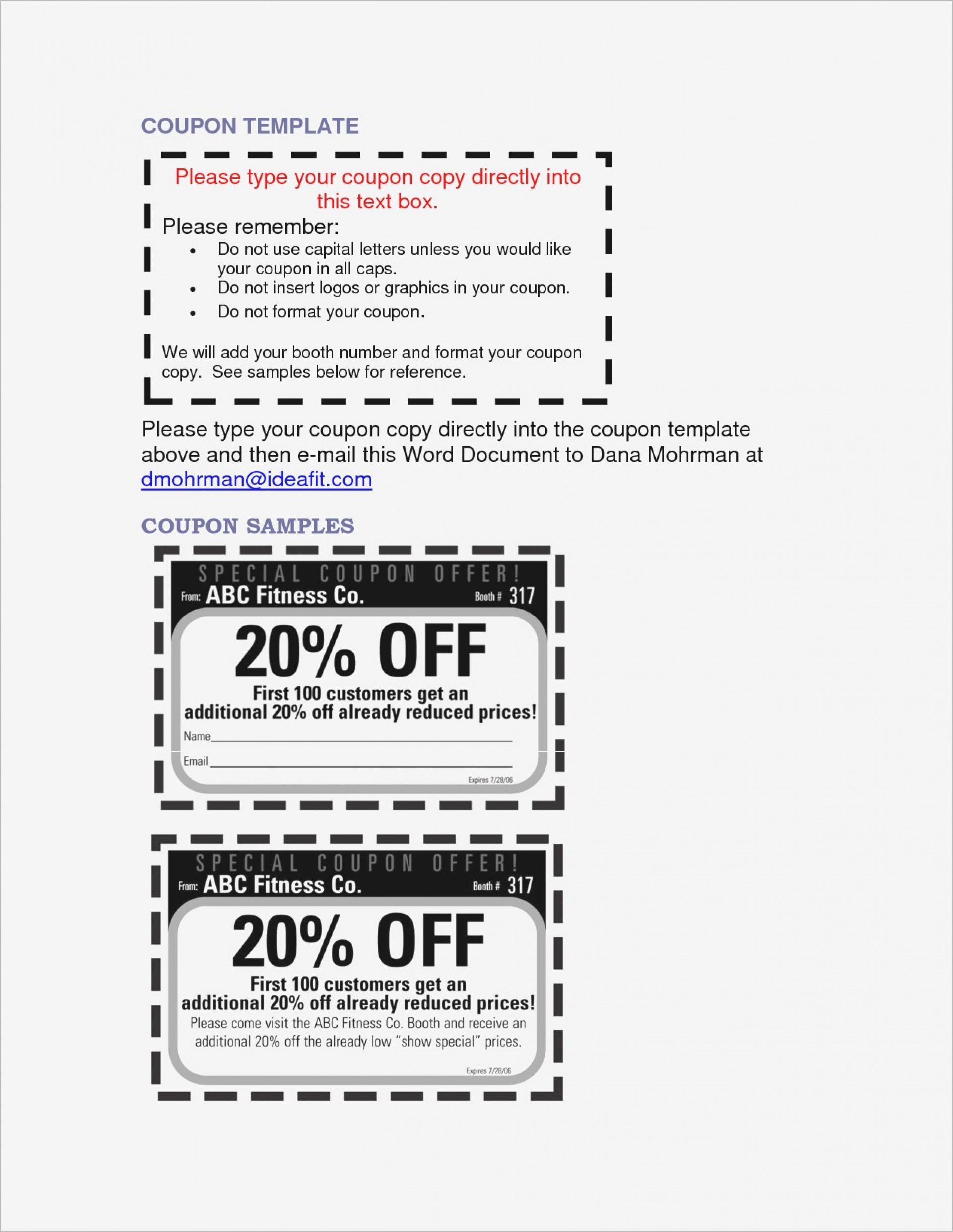 010 Make Your Own Coupon Template Free Printable Templates Brochure - Create Your Own Coupon Free Printable