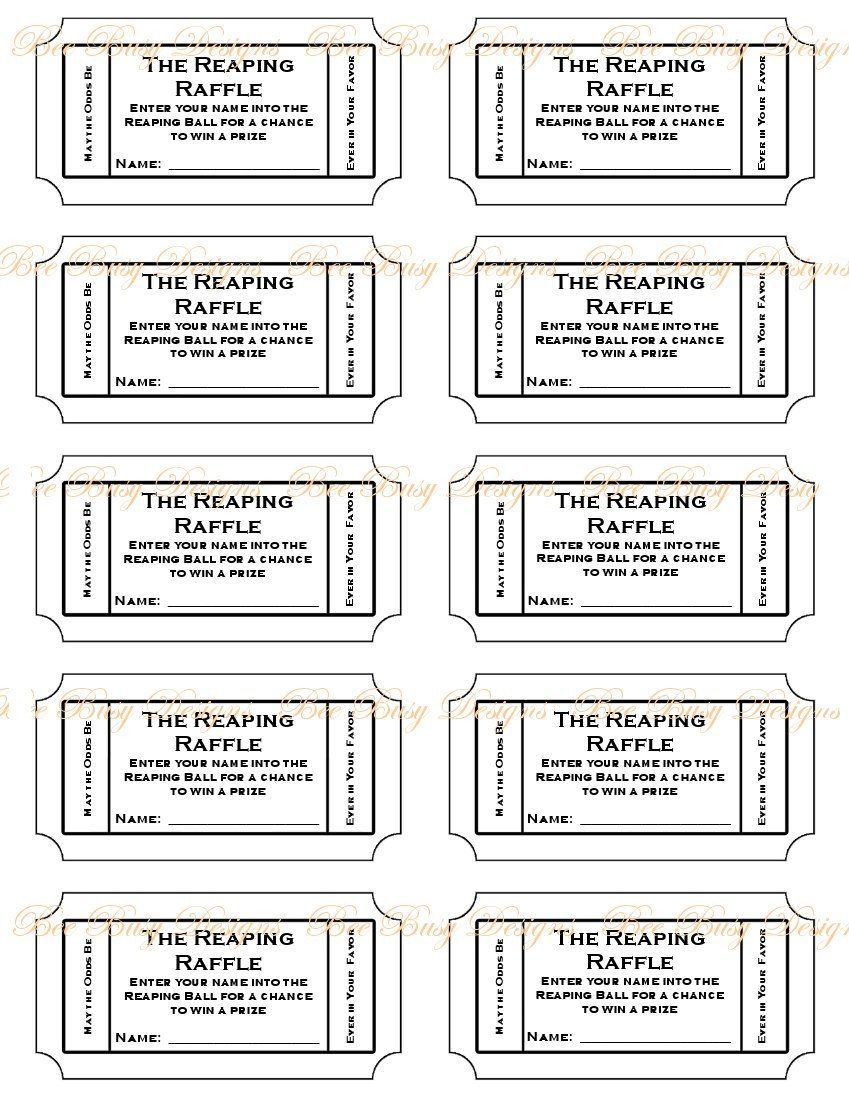 012 Diaper Raffle Tickets Template ~ Ulyssesroom - Free Printable Diaper Raffle Tickets Black And White