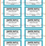 012 Free Printable Ticket Template Elegant For Event Of ~ Ulyssesroom   Diaper Raffle Template Free Printable