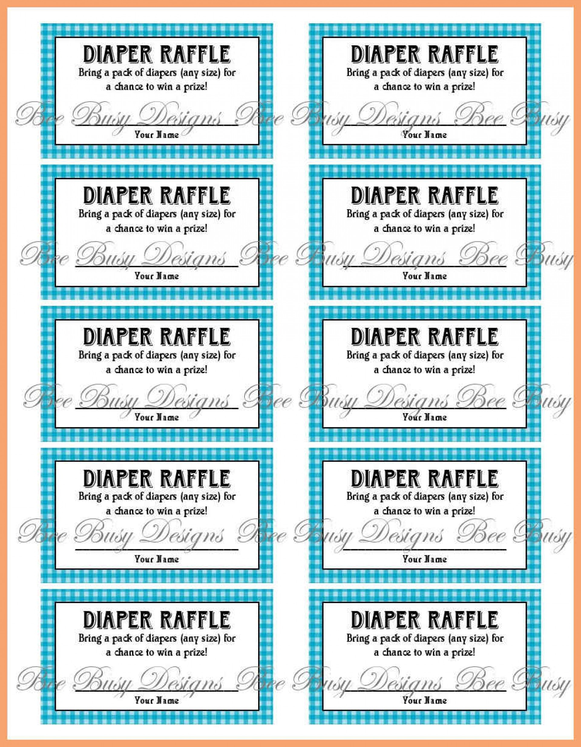 012 Free Printable Ticket Template Elegant For Event Of ~ Ulyssesroom - Diaper Raffle Template Free Printable