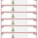 012 Template Ideas Address Label Templates Free Printable Christmas   Free Printable Christmas Return Address Label Template