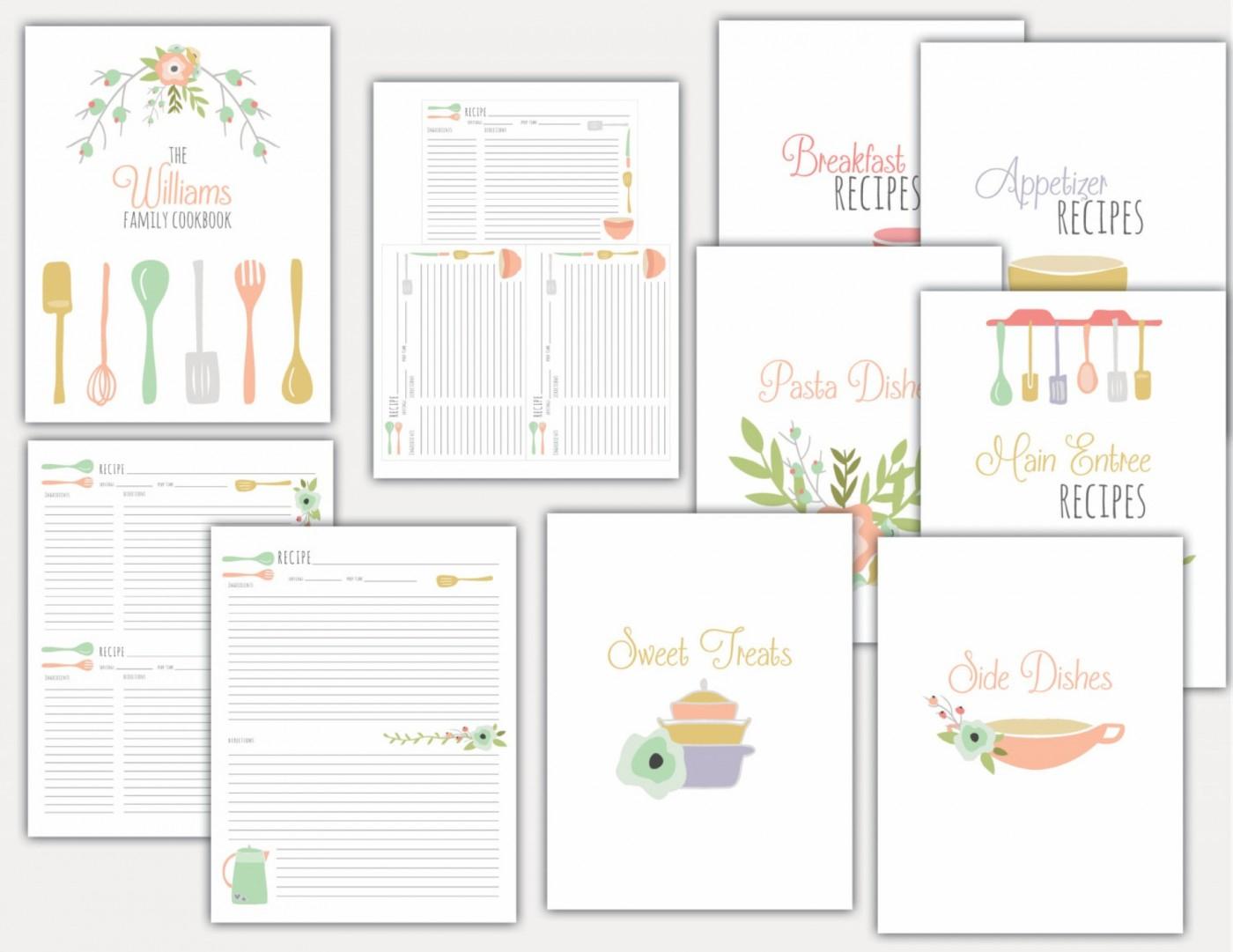 013 Free Printable Recipe Templates Card Revised Stirring Christmas - Free Printable Recipes