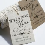 013 Template Ideas Wedding Favor Tag Templates Thank You Tags   Free Printable Wedding Thank You Tags