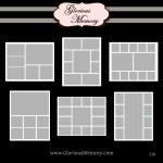014 Free Photo Collage Templates Template ~ Ulyssesroom   Free Printable Photo Collage Template