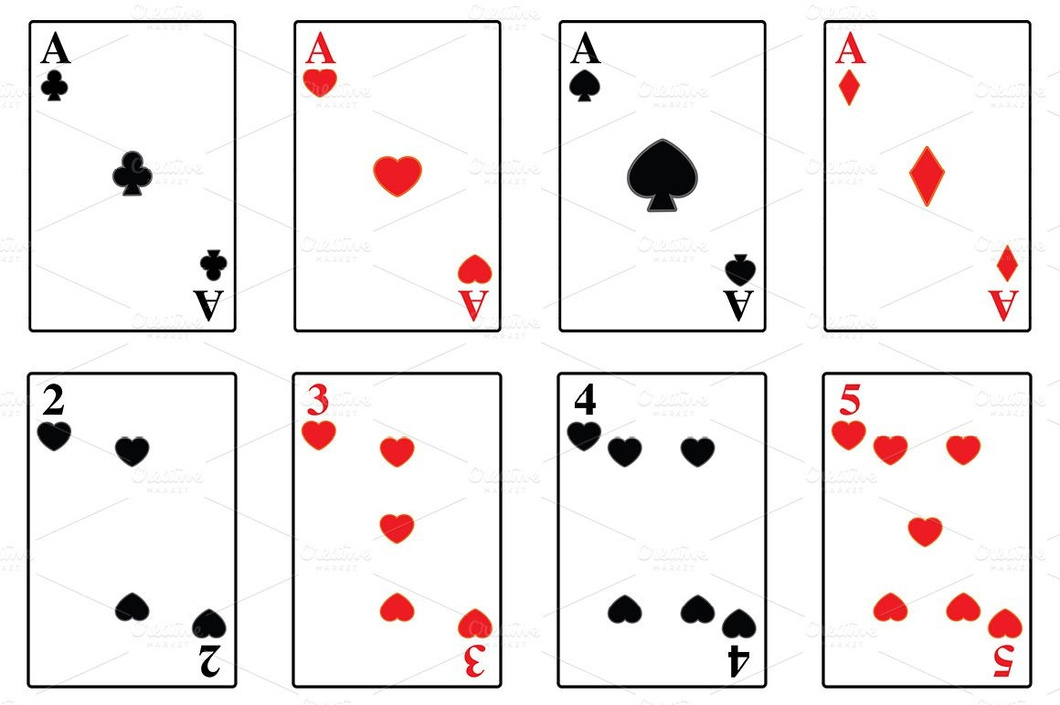 015 Cards Deck Template Ideas ~ Ulyssesroom - Free Printable Deck Of Cards