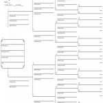016 Five Generation Family Tree Template Printable Templates   Free Printable Family History Forms