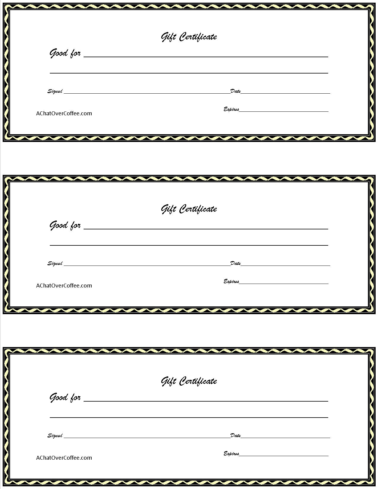 017 Template Ideas Free Christmas Gift Certificate Word List Coupon - Free Printable Gift Certificates