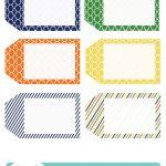 022 Printable Gift Tags Templates Birthday Tag Template ~ Ulyssesroom   Free Printable Blank Gift Tags
