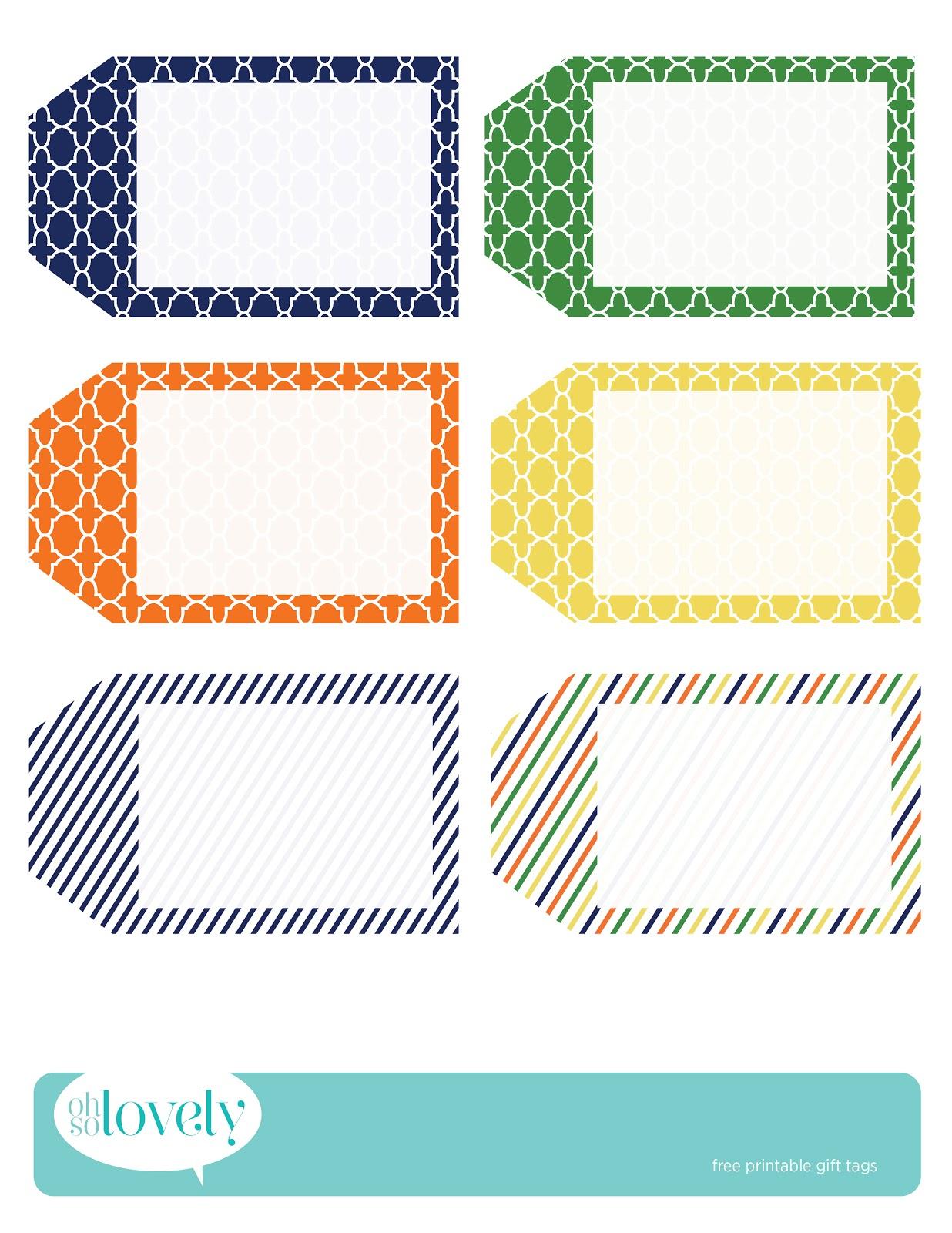022 Printable Gift Tags Templates Birthday Tag Template ~ Ulyssesroom - Free Printable Gift Tags Templates