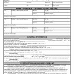 023 Free Printable Employment Application Form Pdf Writings And   Free Printable Job Application Form Pdf