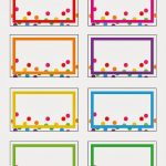 023 Printable Name Tags Free Badge Template ~ Ulyssesroom   Free Printable Name Tags For Preschoolers