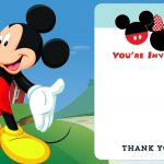 027 Mickey Mouse Birthday Invitations Template Cool Free Printable   Free Printable Mickey Mouse Birthday Invitations