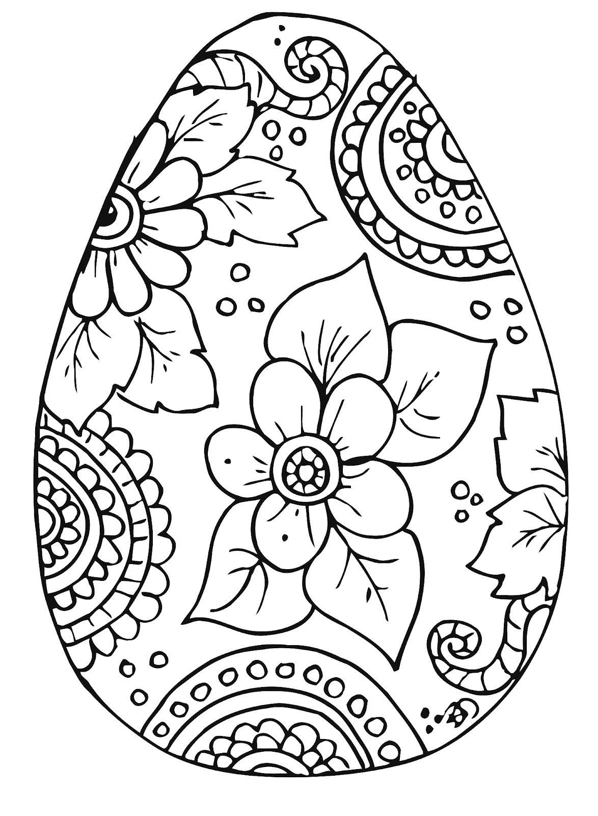 10 Cool Free Printable Easter Coloring Pages For Kids Who've Moved - Free Printable Easter Coloring Pictures