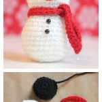 10 Crochet Amigurumi Snowman Free Patterns | Crochet | Pinterest   Free Printable Christmas Crochet Patterns