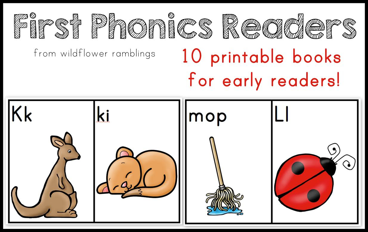10 Phonics Readers For Early Reading - Free Printable Phonics Books