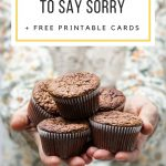 10 Ways To Apologize And Free Printable Cards | Making Life Blissful   Free Printable Apology Cards