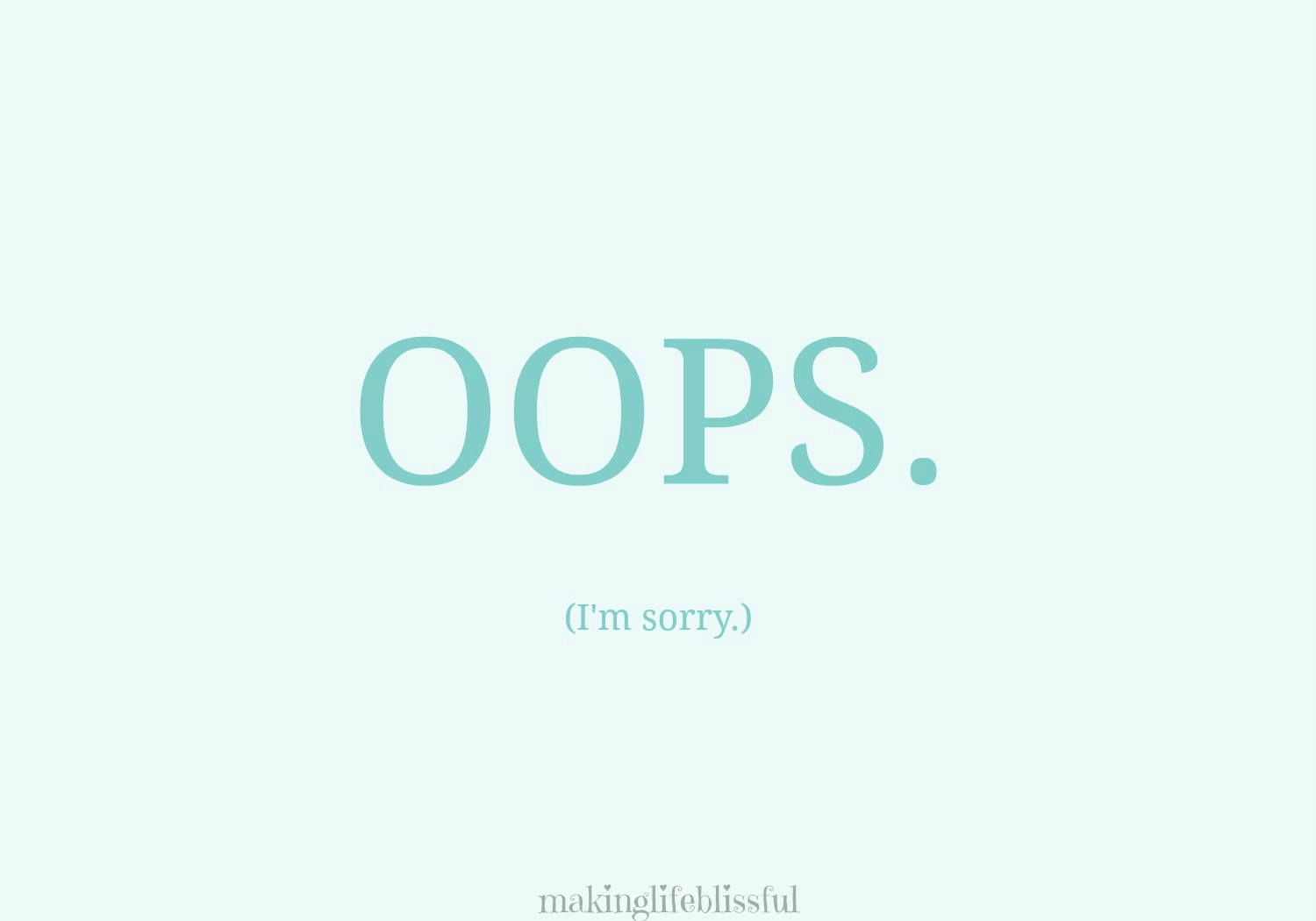 10 Ways To Apologize And Free Printable Cards   Making Life Blissful - Free Printable Apology Cards