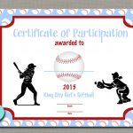 100+ Softball Certificates Award Templates And Coaching Forms   Free Printable Softball Award Certificates