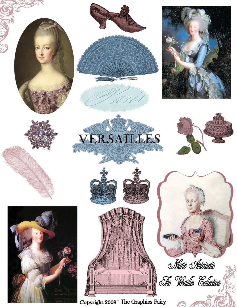 1000 Followers Celebration - Free Digital Collage Sheet - The - Free Printable Digital Collage Sheets