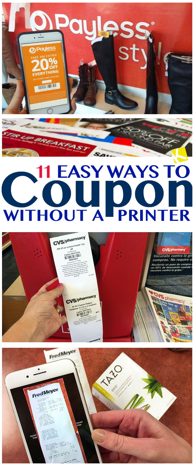 11 Easy Ways To Coupon Without A Printer - The Krazy Coupon Lady - Free Printable Coupons Without Coupon Printer