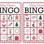 11 Free, Printable Christmas Bingo Games For The Family   Free Printable Bingo Cards 1 100