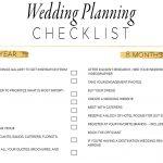 11 Free, Printable Wedding Planning Checklists   Free Printable Wedding Checklist
