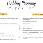 11 Free, Printable Wedding Planning Checklists   Free Printable Wedding Planner Book Pdf