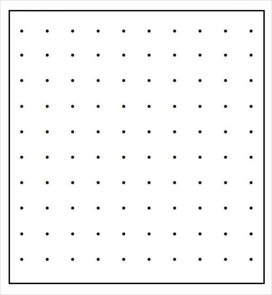 11+ Sample Dot Papers | Sample Templates Inside Free Printable - Free Printable Square Dot Paper