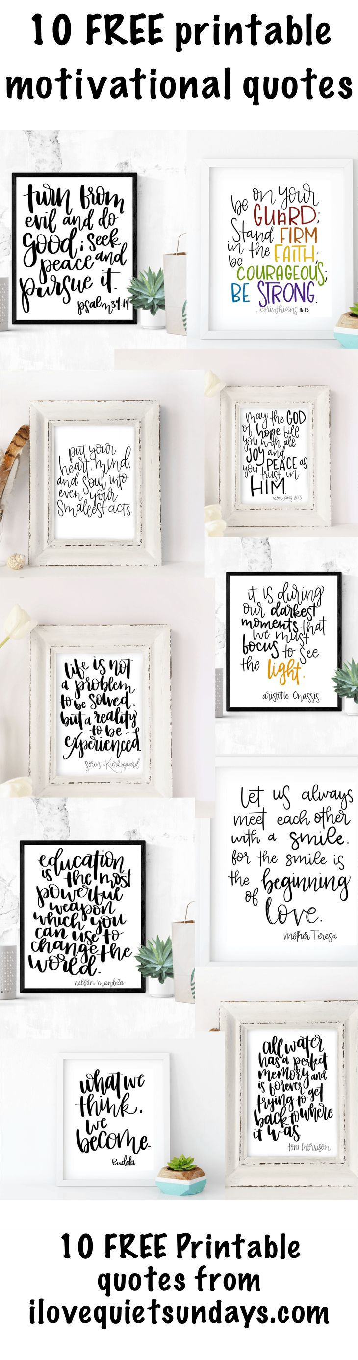 118 Best Word Art Images On Pinterest   Free Printables, Etchings - Free Printable Quotes Templates