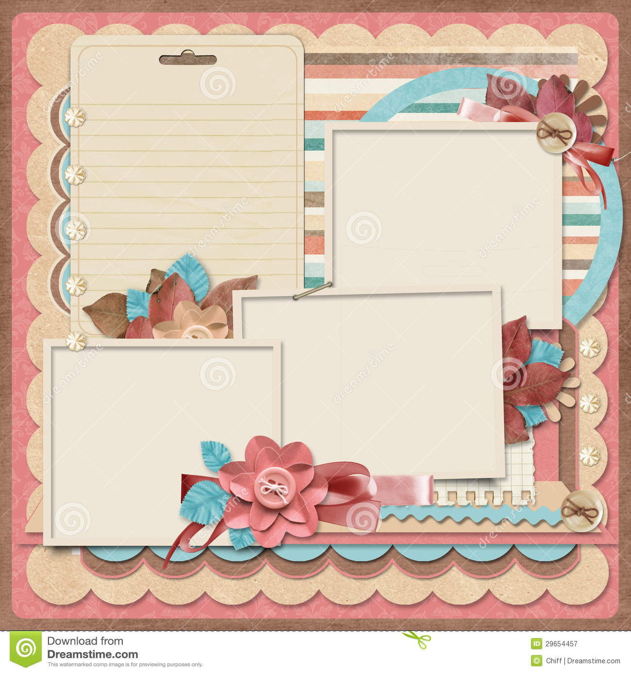 12 Free Design Templates For Scrapbooking Images - Free Scrapbook - Free Printable Scrapbook Pages