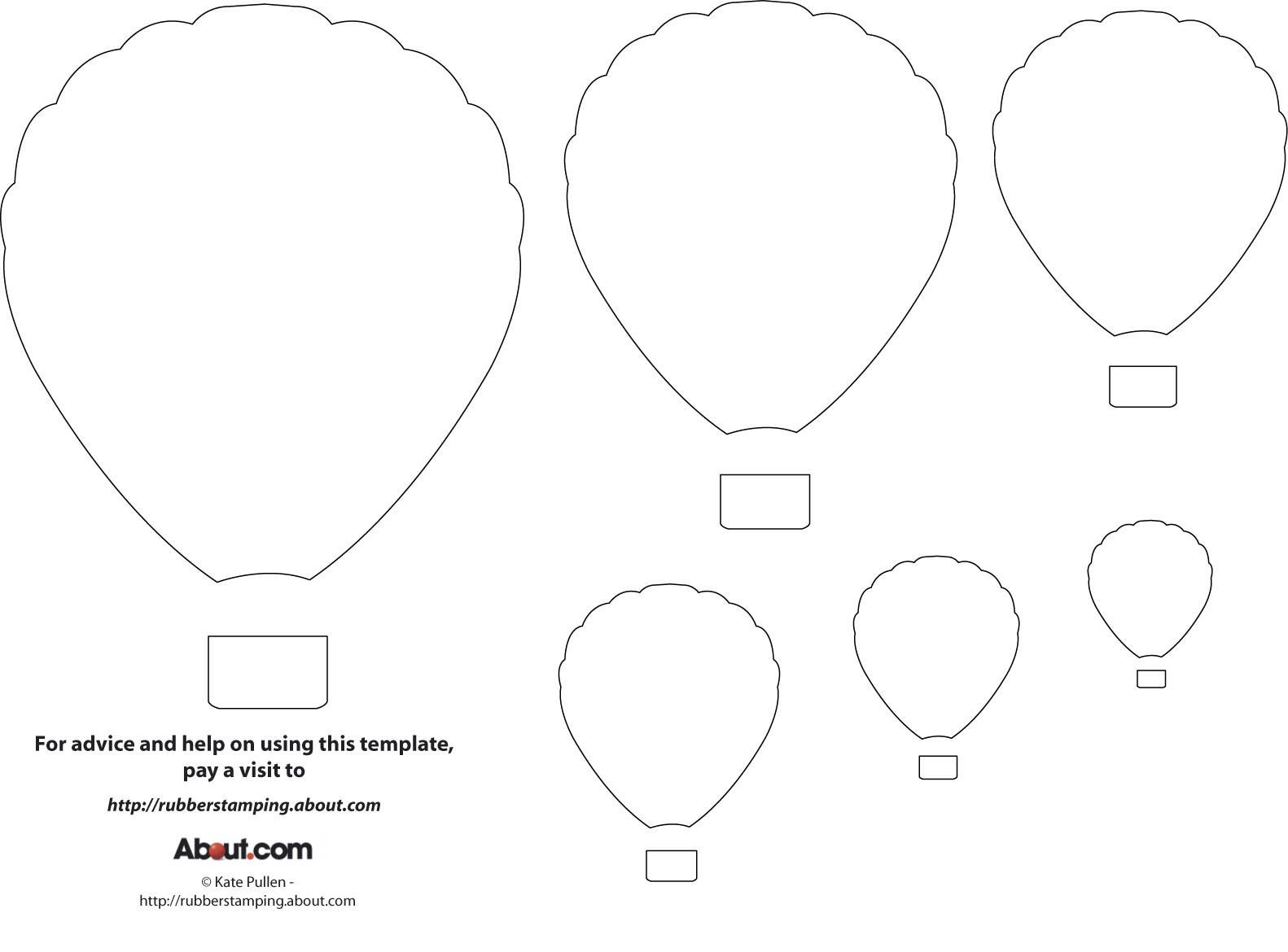 12 Free Printable Templates   Printables   Pinterest   Balloon - Free Printable Pictures Of Balloons