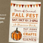 13 Free Printable Fall Festival Flyer Templates Template Modern   Free Printable Fall Flyer Templates