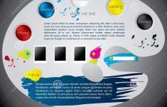 14 Painter's Palette Template Images – Paint Palette Template, Paint – Free Printable Paint Palette