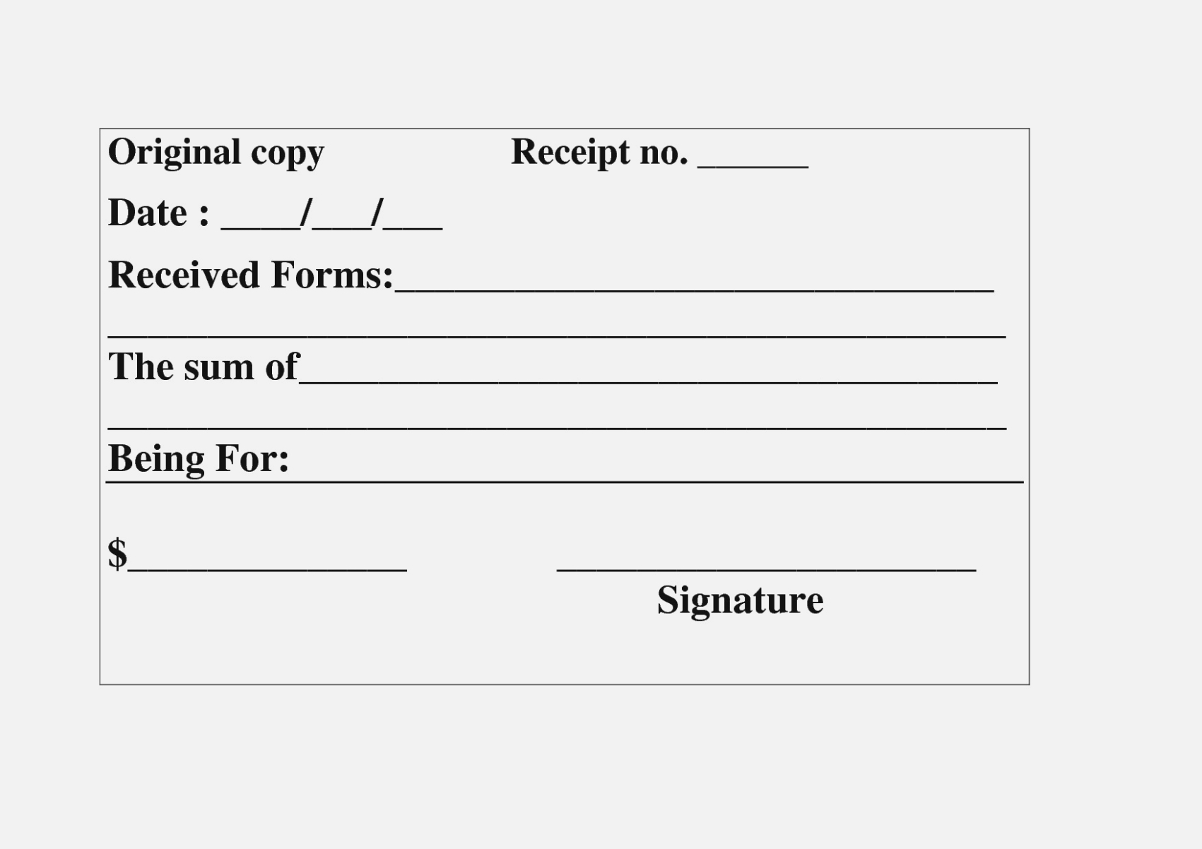 15 Ingenious Ways You Can   Invoice And Resume Template Ideas - Free Printable Blank Receipt Form