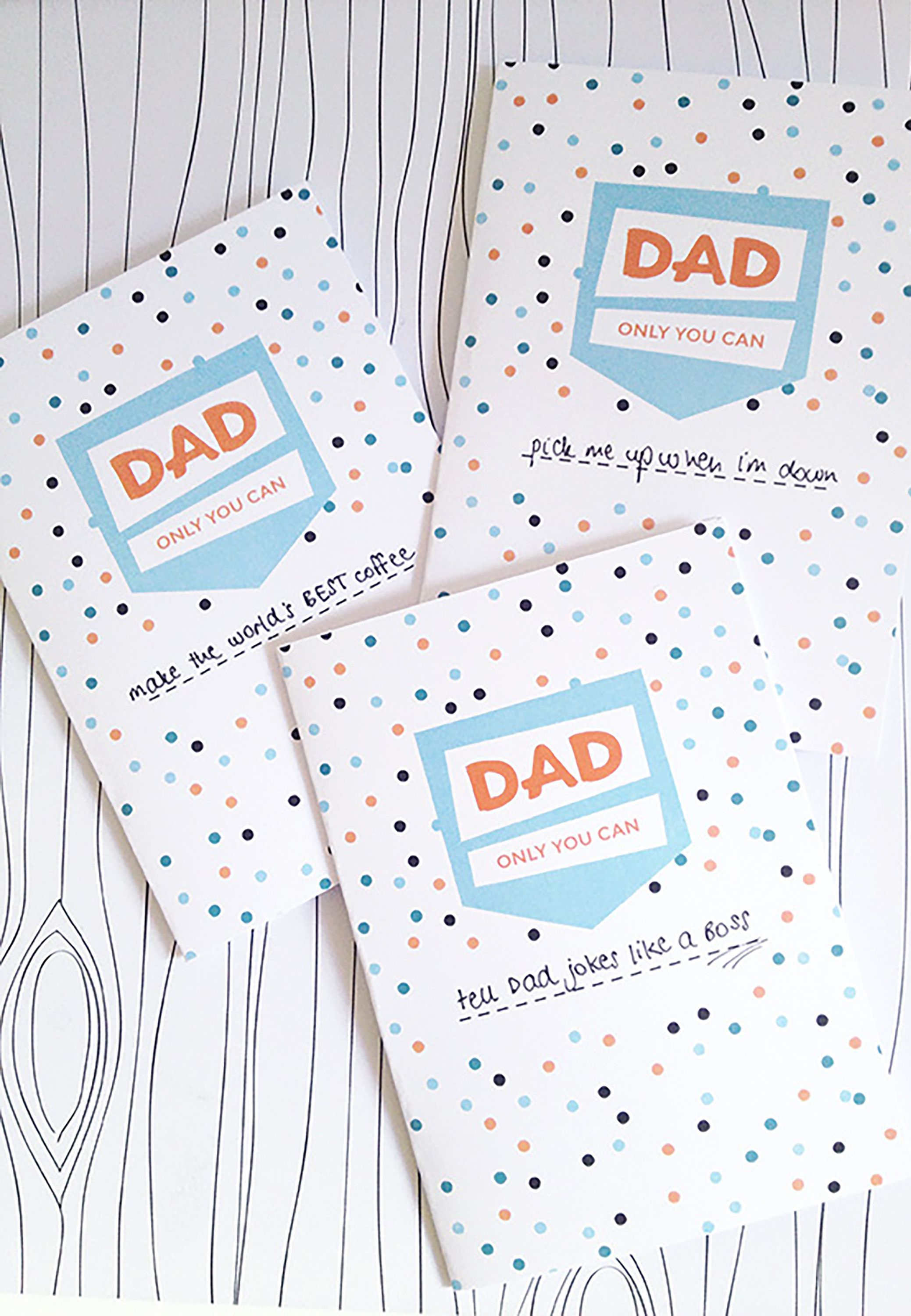 16 Printable Father's Day Cards - Free Printable Cards For Father's Day - Boss Day Cards Free Printable
