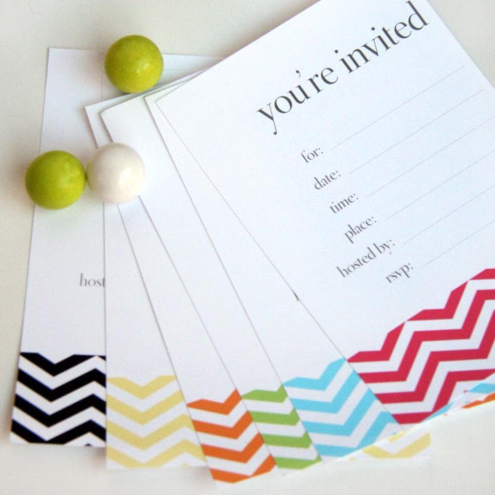 17 Free, Printable Birthday Invitations - Free Printable Birthday Invitations