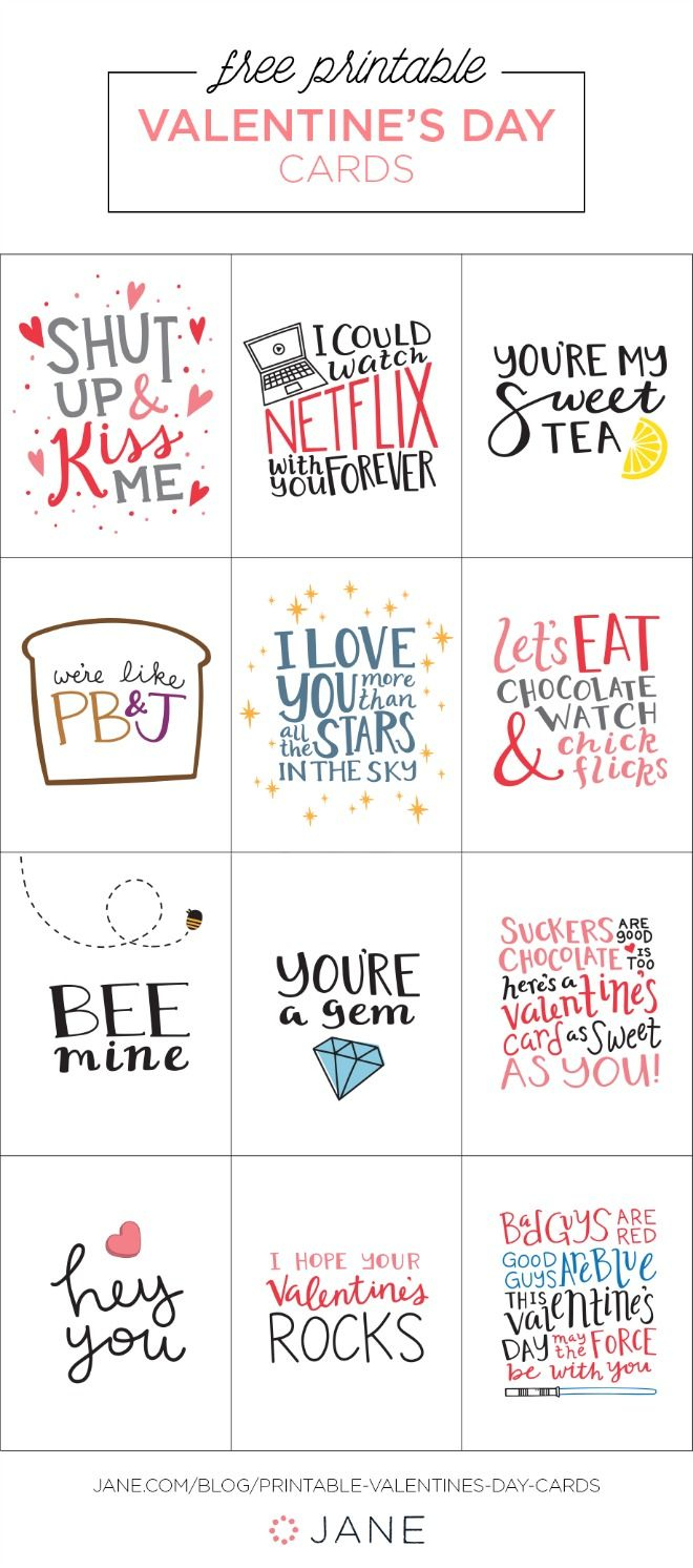 17 Free Printable Valentine Greeting Cards | Valentine's Inspiration - Free Printable Valentine Cards For Husband